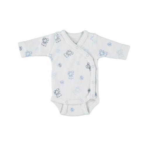 FIXONI Boys Body dziecięce kolor biały/niebieski
