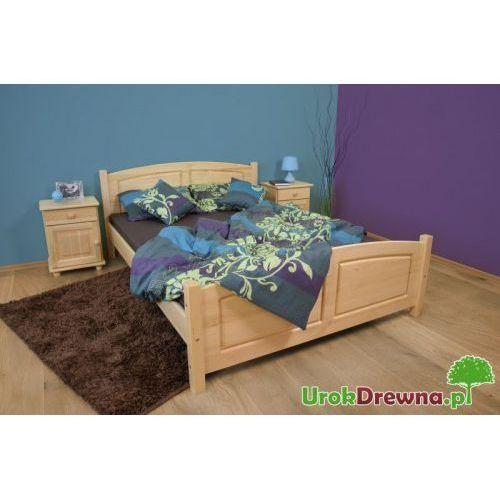 Łóżko drewniane sosnowe Mario 120x200
