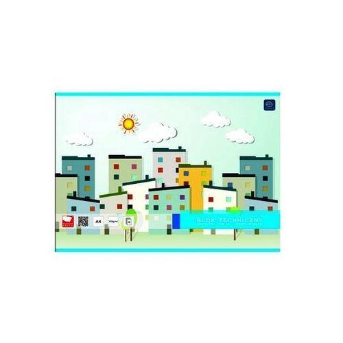 Blok techniczny A3 biały 10 kartek Garwolin