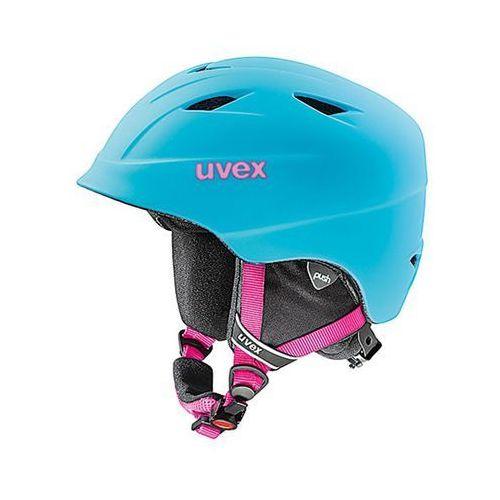 Dziecięcy kask narciarski  airwing 2 pro liteblue m (54-58 cm) marki Uvex