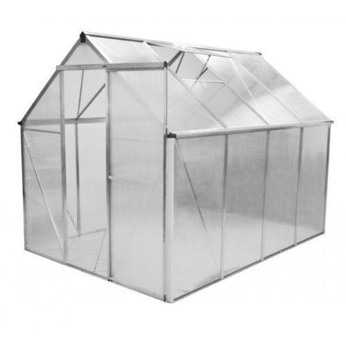 Hecht czechy Hecht greenhouse szklarnia ogrodowa aluminiowa 250x190x195 + podstawa gratis - oficjalny dystrybutor - autoryzowany dealer hecht (8595614904827)