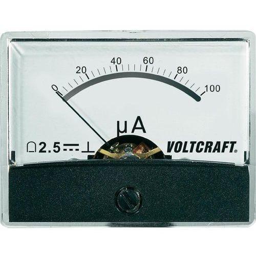 Analogowy wskaźnik panelowy VOLTCRAFT AM-60X46/100uA/DC