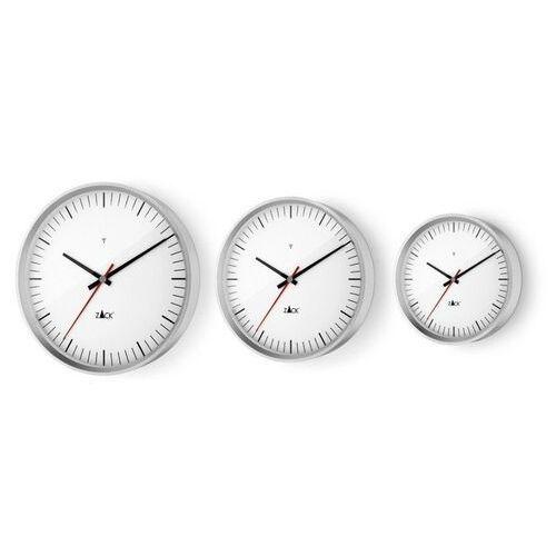 Zegar ścienny sterowany radiowo vida 30 cm biały marki Zack