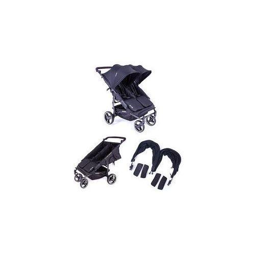 Baby monsters W�zek bli�niaczy easy twin 3.0s + zestaw kolorystyczny (black)