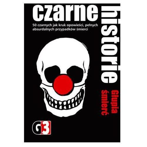 G3 Czarne historie - Głupia śmierć - produkt z kategorii- Gry karciane