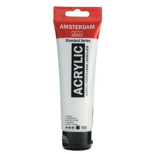 Talens Amsterdam Acryl Farba 120ml 105 Titan white