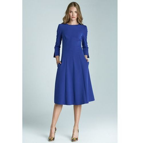 Sukienka model s64 blue, Nife