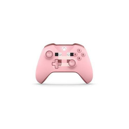Gamepad xbox one s wireless - minecraft pig (wl3-00053) marki Microsoft
