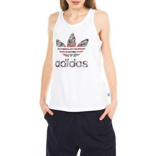 adidas Originals Trefoil Podkoszulka Biały 36 (4057288248828)