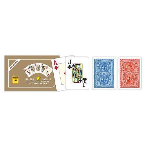 Modiano 2 rogowe karty, luksusowe ramino golden trophy (8003080004403)