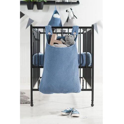 torba do przechowywania, 40 x 10 50 cm, niebieska, pleciona marki Jollein
