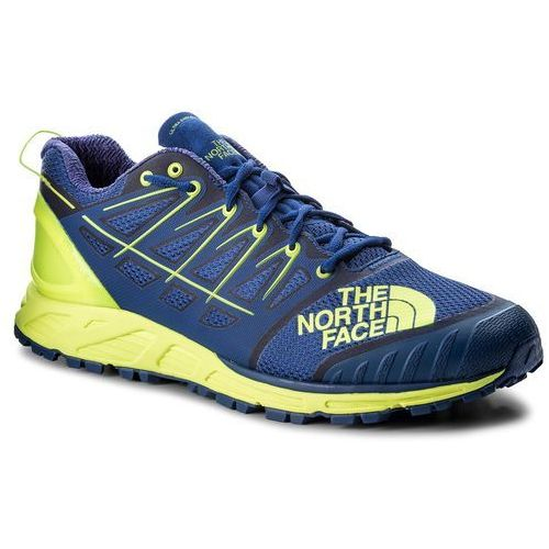 The north face Buty - men's ultra endurance ii t939ie4cu brit blue/dayglo yellow