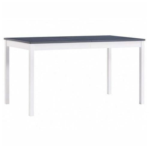 Biało-szary stół sosnowy – elmor 2x marki Elior