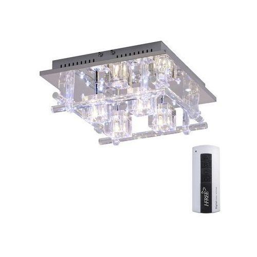 Leuchtendirekt Lampa sufitowa 50356-17, g4, led wbudowany na stałe, (dxsxw) 30 x 30 x 12.5 cm, chrom (4043689898663)