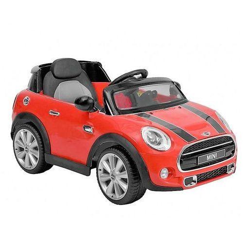 Hecht bmw mini hatch red samochód elektryczny akumulatorowy auto jeździk zabawka dla dziec z pilotemi oficjalny dystrybutor autoryzowany dealer hecht marki Hecht czechy