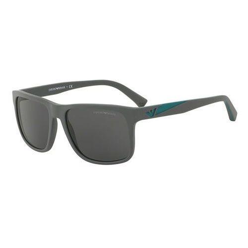Emporio armani Okulary słoneczne ea4071f asian fit 550287