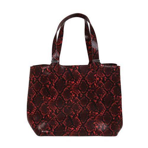 Pieces torba shopper 'pckopa' czerwony (5714486574430)