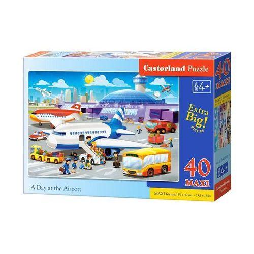 40 elementów maxi dzień na lotnisku marki Castor