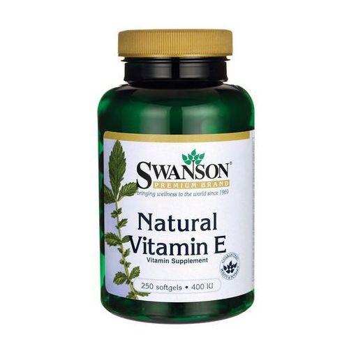 Swanson Witamina E Naturalna 400IU 250 kaps.