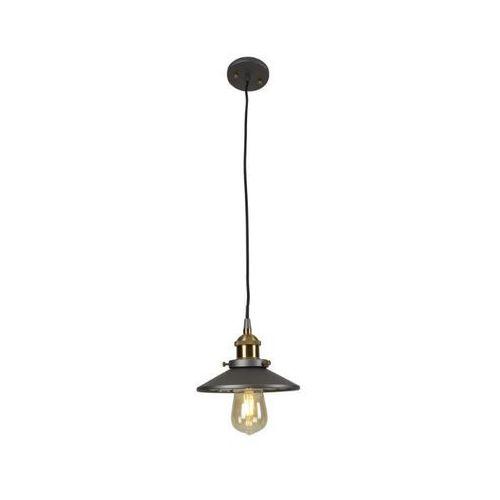 Lampa wisząca Maxlight Haga P0321 1x40W E27 czarna/mosiądz