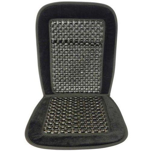 Carpoint mata masująca na siedzenie - kulkowa, czarny