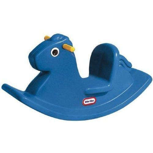 Koń na biegunach 167200072 niebieski + zamów z dostawą jutro! + darmowy transport! marki Little tikes
