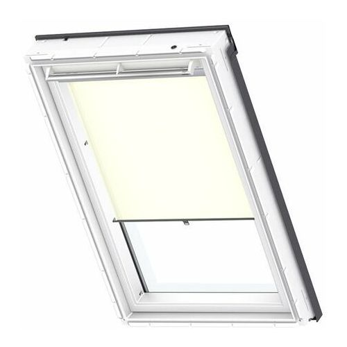 Roleta na okno dachowe dekoracyjna standard rhl pk08 94x140 na haczykach beżowa marki Velux