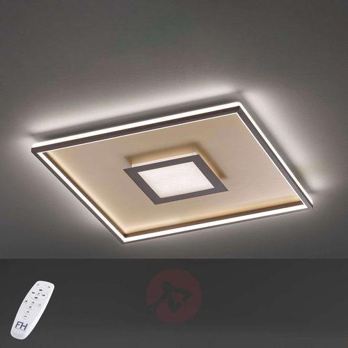 Fischer & honsel Lampa sufitowa bug led aluminium, 1-punktowy, zdalne sterowanie - nowoczesny - obszar wewnętrzny - bug - czas dostawy: od 3-6 dni roboczych