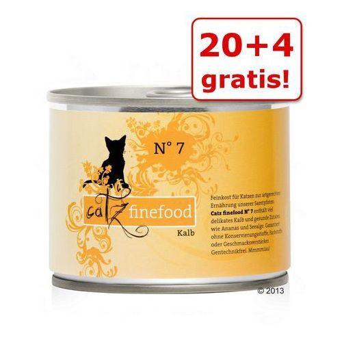 20 + 4 gratis! 24 x 200 g w puszkach - kurczak z tuńczykiem marki Catz finefood