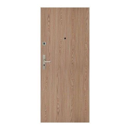 Drzwi pełne Dominos 90 prawe dąb naturalny (5902689035920)