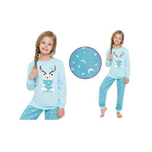 Piżama dziecięca ADA: błękit, kolor niebieski