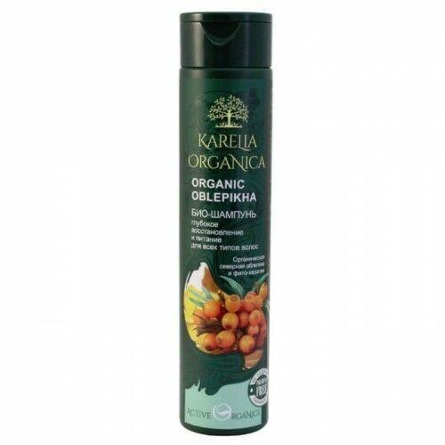Karelia Organica Bio szampon organic oblepikha z rokitnikiem głęboka odnowa i nasycenie 310 ml (4620012091795)