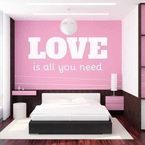 naklejka 03X 24 love is all you need 1723
