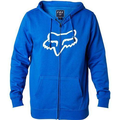 bluza FOX - Legacy Foxhead Zip Fleece Blue (002) rozmiar: 2X, kolor niebieski