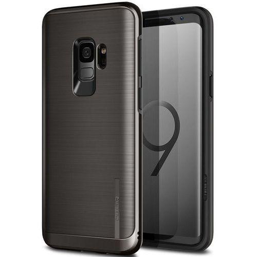 Obliq Slim Meta - Etui Samsung Galaxy S9 (Titanium Black), kolor czarny