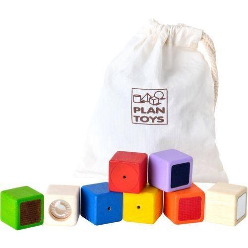 klocki interaktywne wyprodukowany przez Plan toys