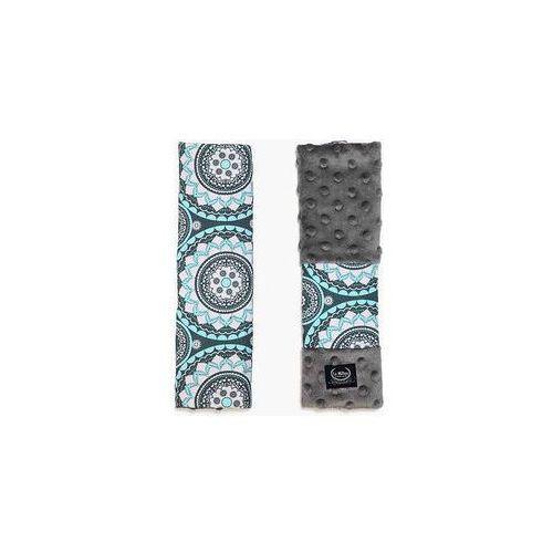 La millou Ochraniacze na pasy seatbelt cover (mosaic grey)