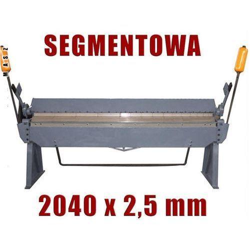 ZAGINARKA GIĘTARKA SEGMENTOWA DO BLACHY MAKTEK 2040mm x 2.5mm EWIMAX