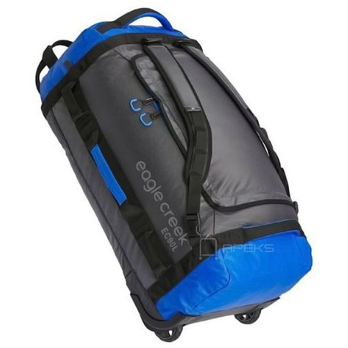 cargo hauler rolling duffel 90l torba podróżna na kółkach 74 cm / składana / plecak / blue - blue marki Eagle creek