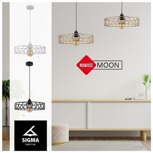 Sigma Moon 50218 lampa podłogowa 1x60W E27 czarna/złota