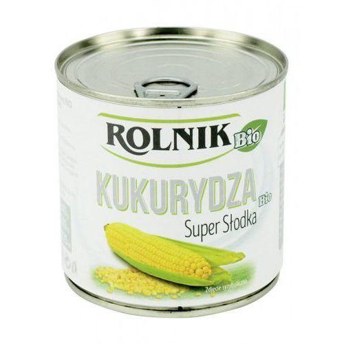 Kukurydza super słodka bio 400g - marki Rolnik