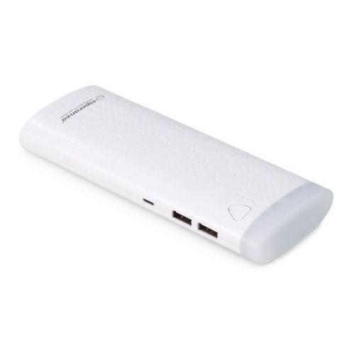Esperanza Power bank 10000mah fermion biały (5901299928493)