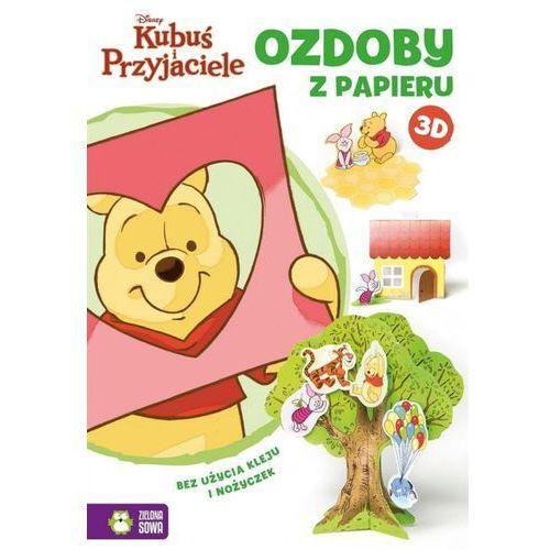 Teatrzyk z papieru 3D Kubuś i Przyjaciele, Zielona Sowa. Najniższe ceny, najlepsze promocje w sklepach, opinie.
