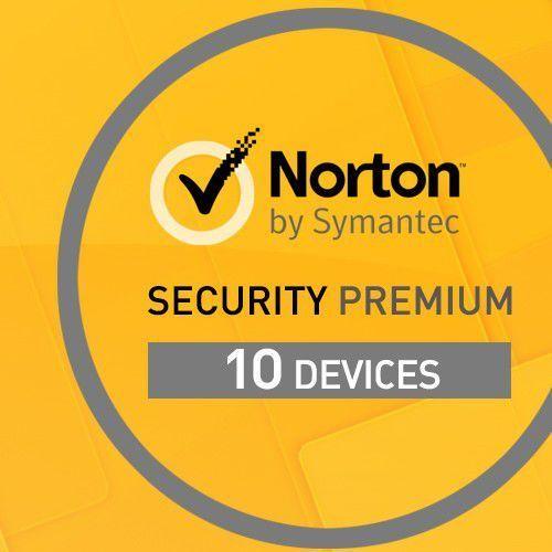 Symantec Norton security premium 10 pc / 1rok z kopią zapasową