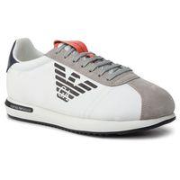 Sneakersy - x4x260 xl710 a602 plaster/white/black marki Emporio armani