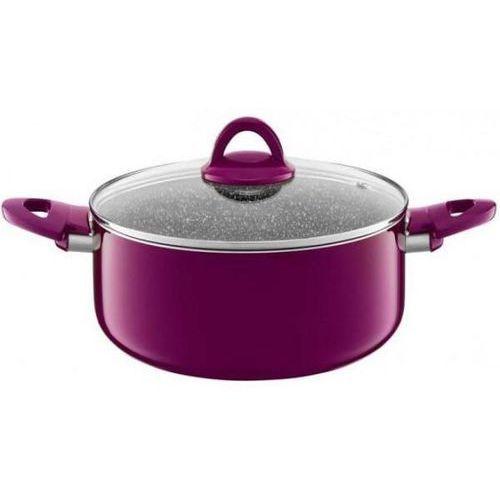 Ambition garnek glamour 28cm purple (83124) >> promocje - neoraty - szybka wysyłka - darmowy transport od 99 zł! (5904134500328)