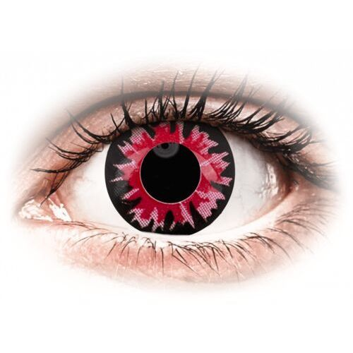 Colourvue crazy lens - volturi - jednodniowe zerówki (2 soczewki) marki Maxvue vision