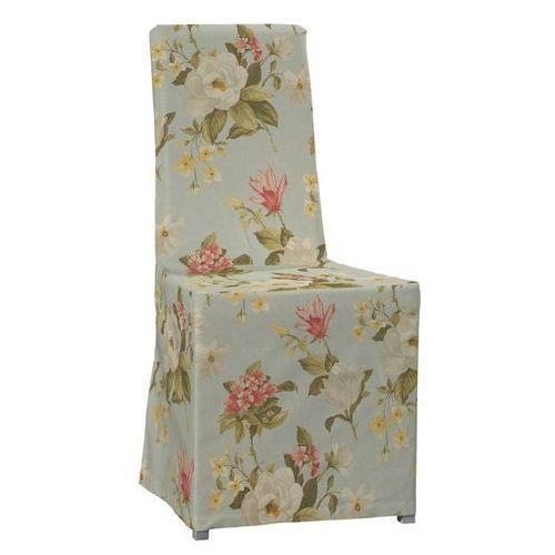 sukienka na krzesło kautsby bez wiązań loneta 133-36, krzesło kautsby marki Dekoria