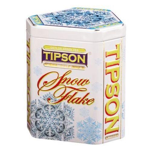 Herbata Tipson Snow Flake White w puszce 100g
