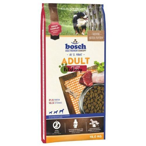 lamb & rice adult 15kg marki Bosch